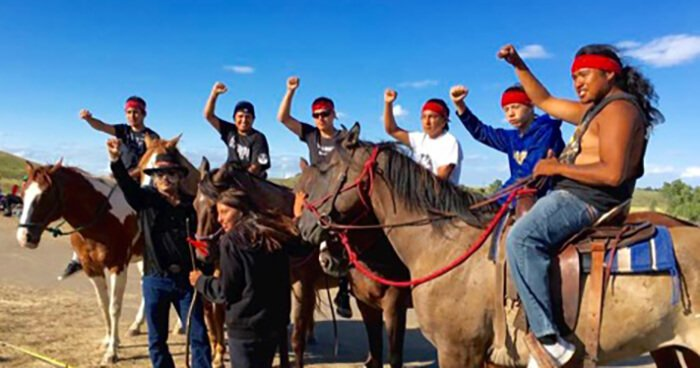 The ultimate goal is for unified indigenous peoples themselves to stop the pipeline.