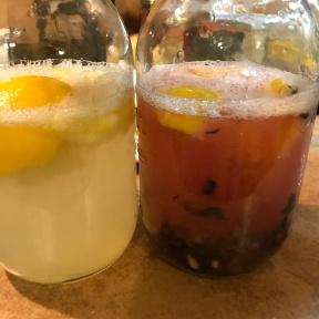 Fresh Homemade Blueberry Lemonade