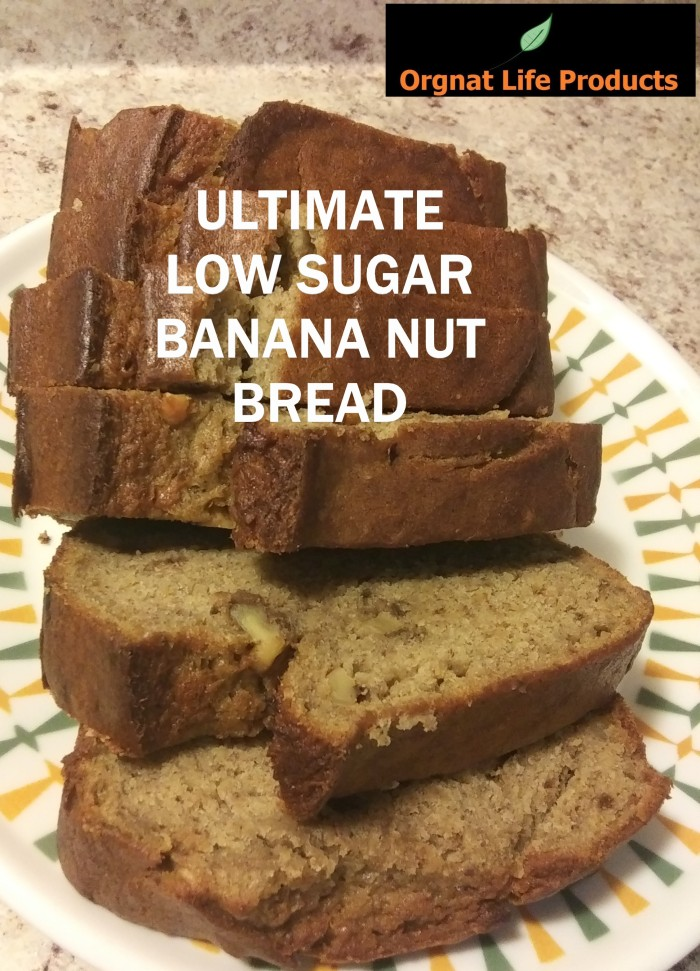 ULTIMATE LOW SUGAR BANANA NUT BREAD